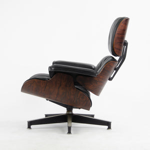 SOLD 1956 Herman Miller Eames Lounge Chair & Ottoman 670 671 New Cushions