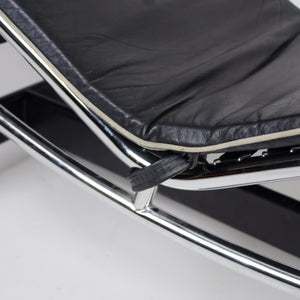 SOLD Le Corbusier Cassina LC4 Chaise Lounge Chair Leather Rare and Original