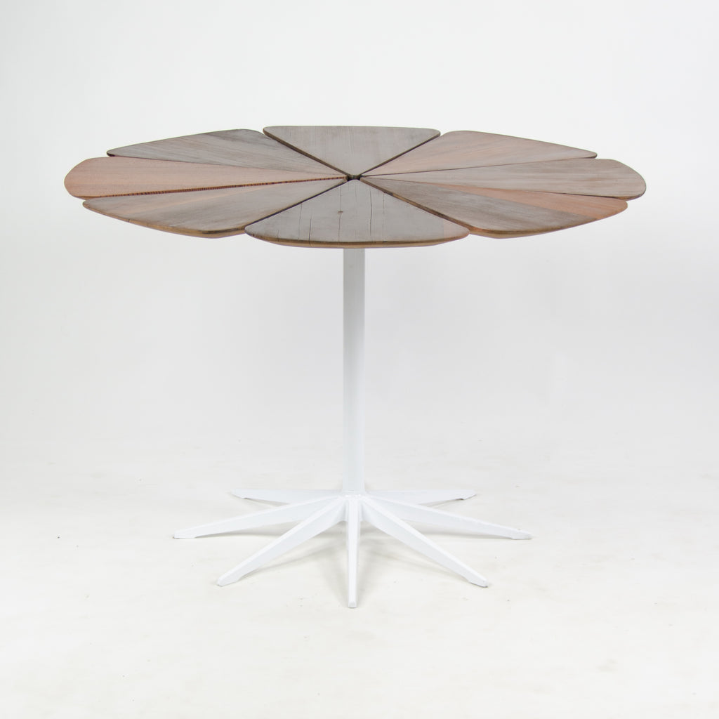 1960s Petal Dining Table by Richard Schultz For Knoll International Vintage Redwood