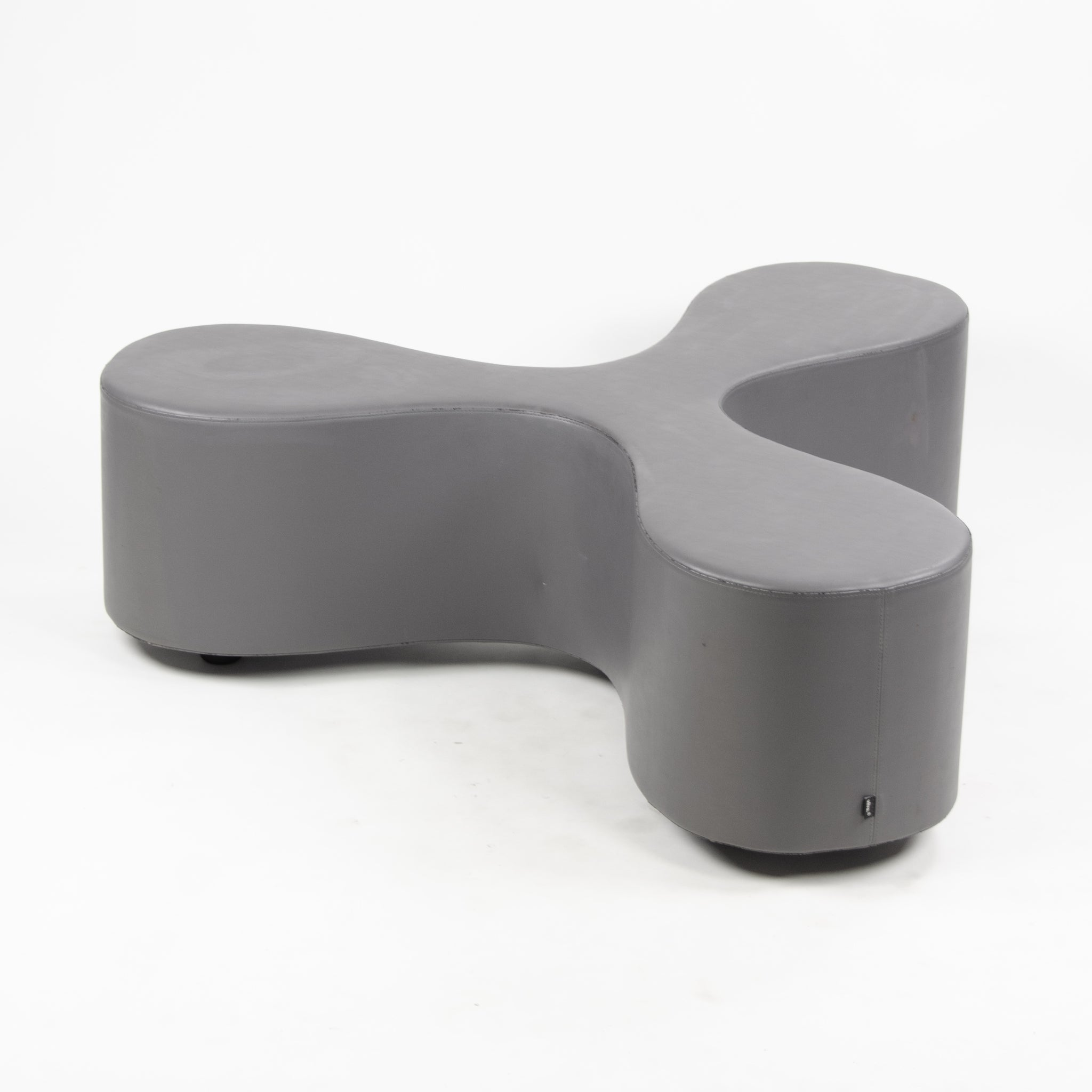 SANAA for Vitra Flower Bench with Gray Upholstery, 4 Available