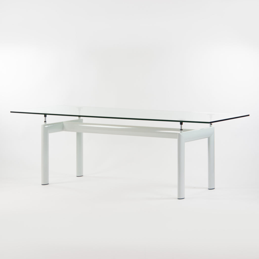 SOLD Le Corbusier Perriand Jeanneret Cassina LC6 Italy Dining Table 88in Grey