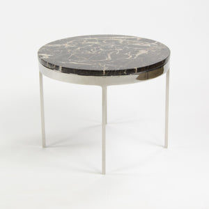 Nicos Zographos Designs Limited Stainless Marble Side Table