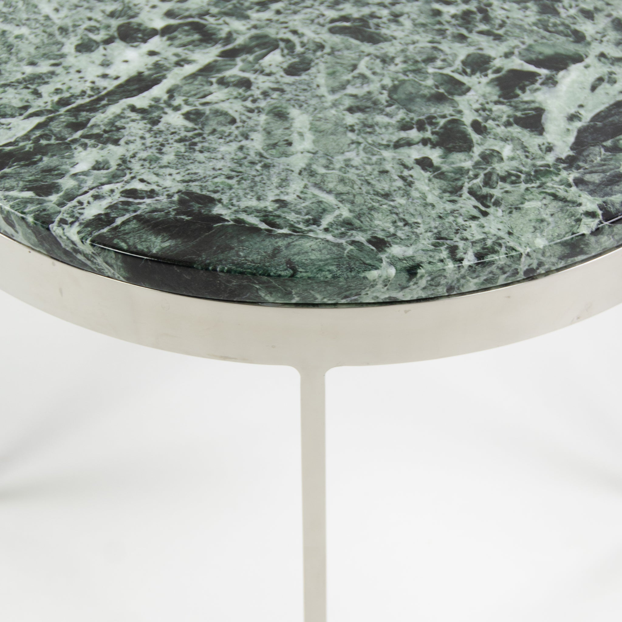 Nicos Zographos Designs Limited Stainless Side End Table