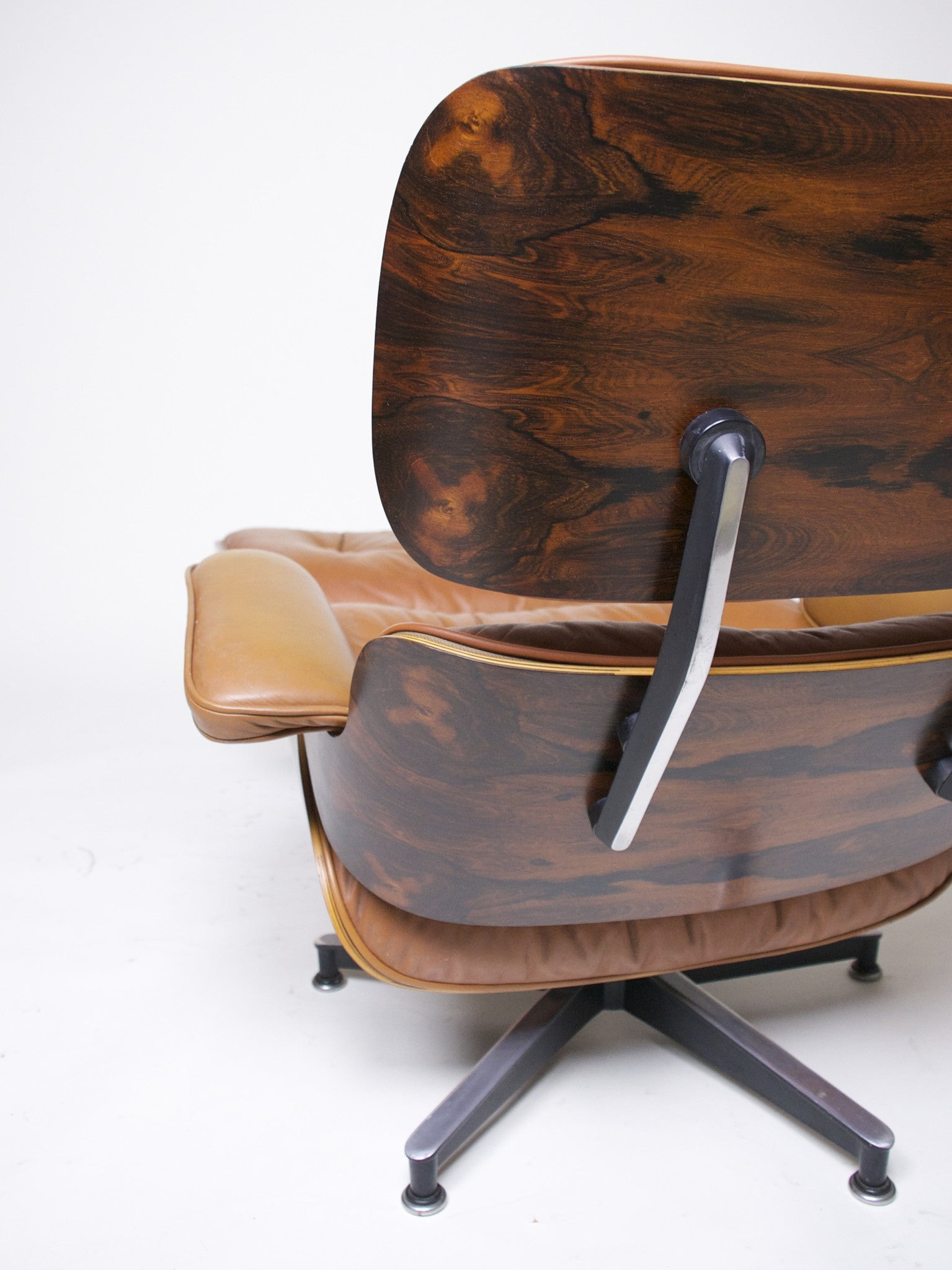SOLD Exceptional Museum Quality Herman Miller Eames Lounge Chair and Ottoman Cognac