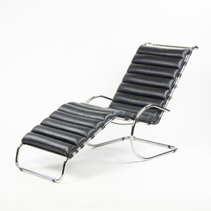 SOLD Knoll International Mies Van Der Rohe MR Chaise Adjustable Lounge Vintage Pair