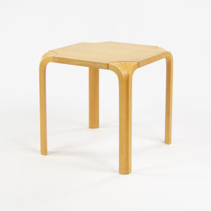SOLD 1950's Alvar Aalto Fan Leg Side End Table Artek Finmar Finsven Knoll Finland