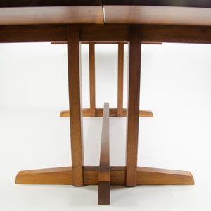 1993 Mira Nakashima George Nakashima Studio Walnut Frenchman's Cove Dining Table