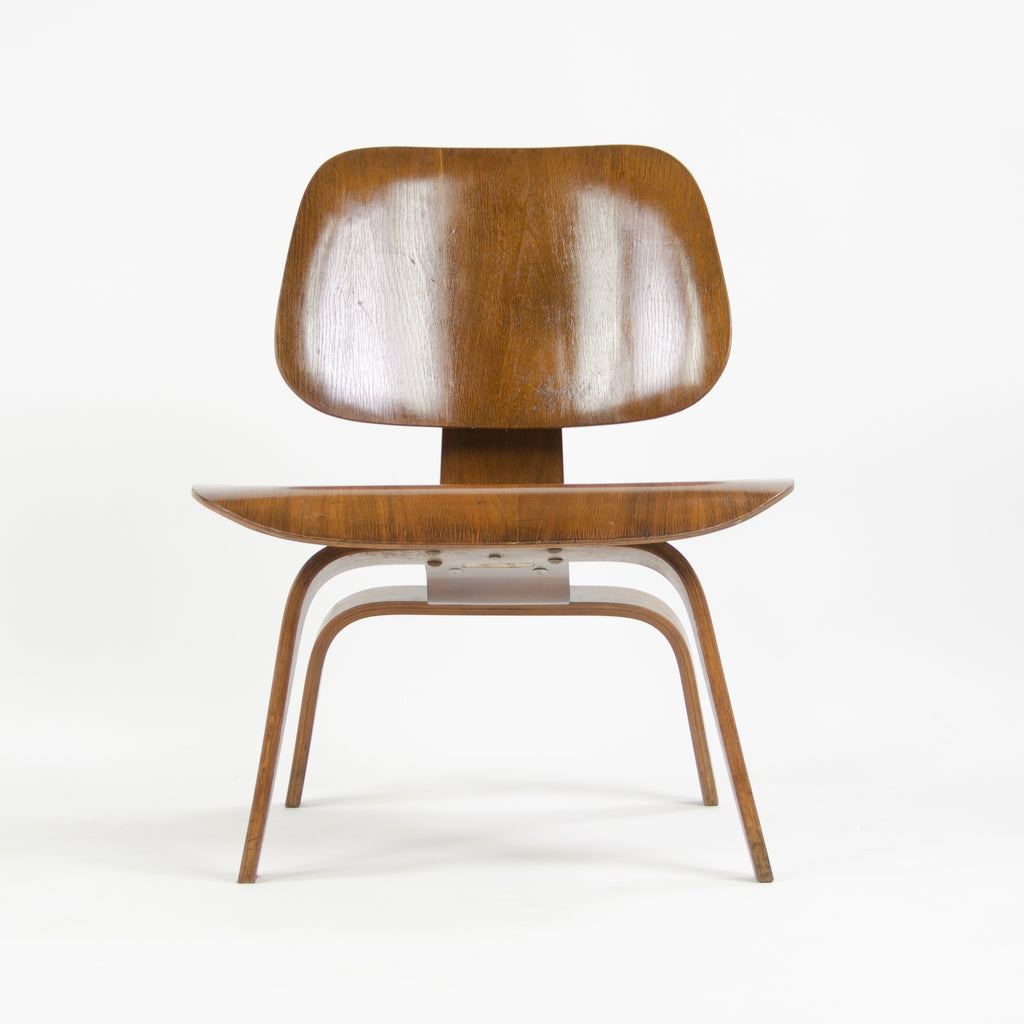 1947 Eames Evans Herman Miller LCW Lounge Chair Wood Walnut