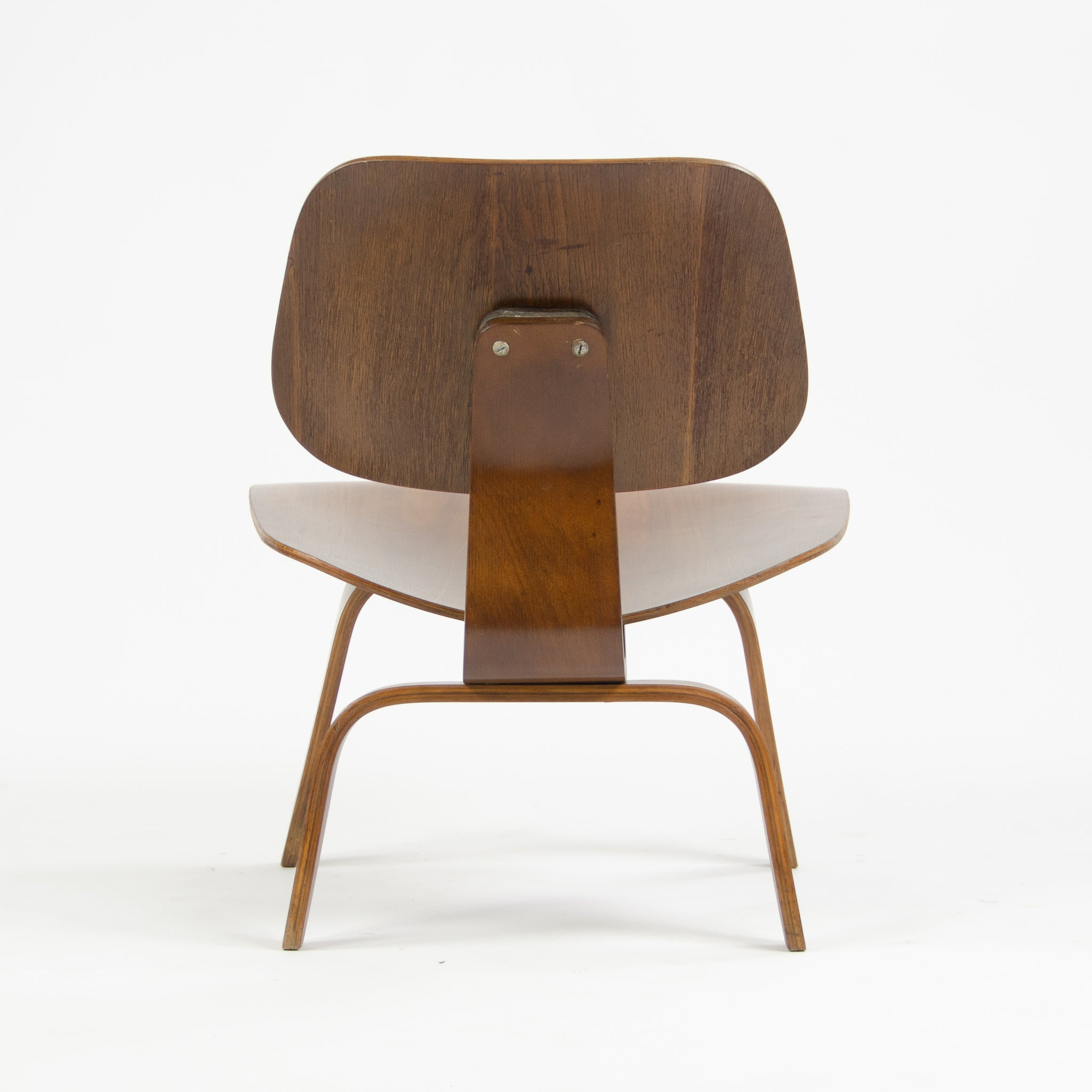 SOLD 1947 Eames Evans Herman Miller LCW Lounge Chair Wood Walnut