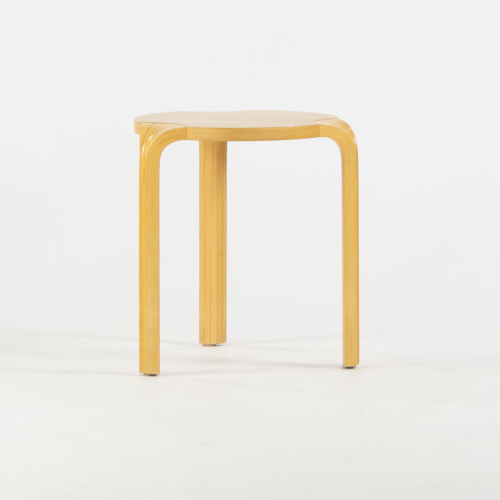 1950's Alvar Aalto Fan Leg Side End Table Artek Finmar Finsven Finland