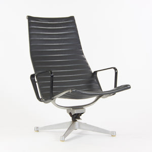 1958 Patent Pending Eames Herman Miller Aluminum Group Lounge Chair Charcoal