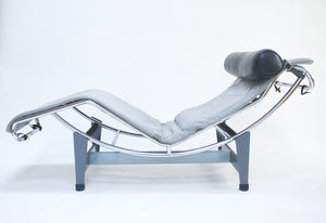 SOLD Le Corbusier Vintage Cassina LC4 Chaise Lounge Chair