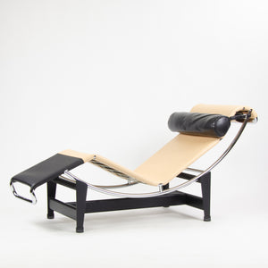 SOLD Cassina Louis Vuitton Le Corbusier LC4CP Chaise Lounge Chair Limited Edition NOS