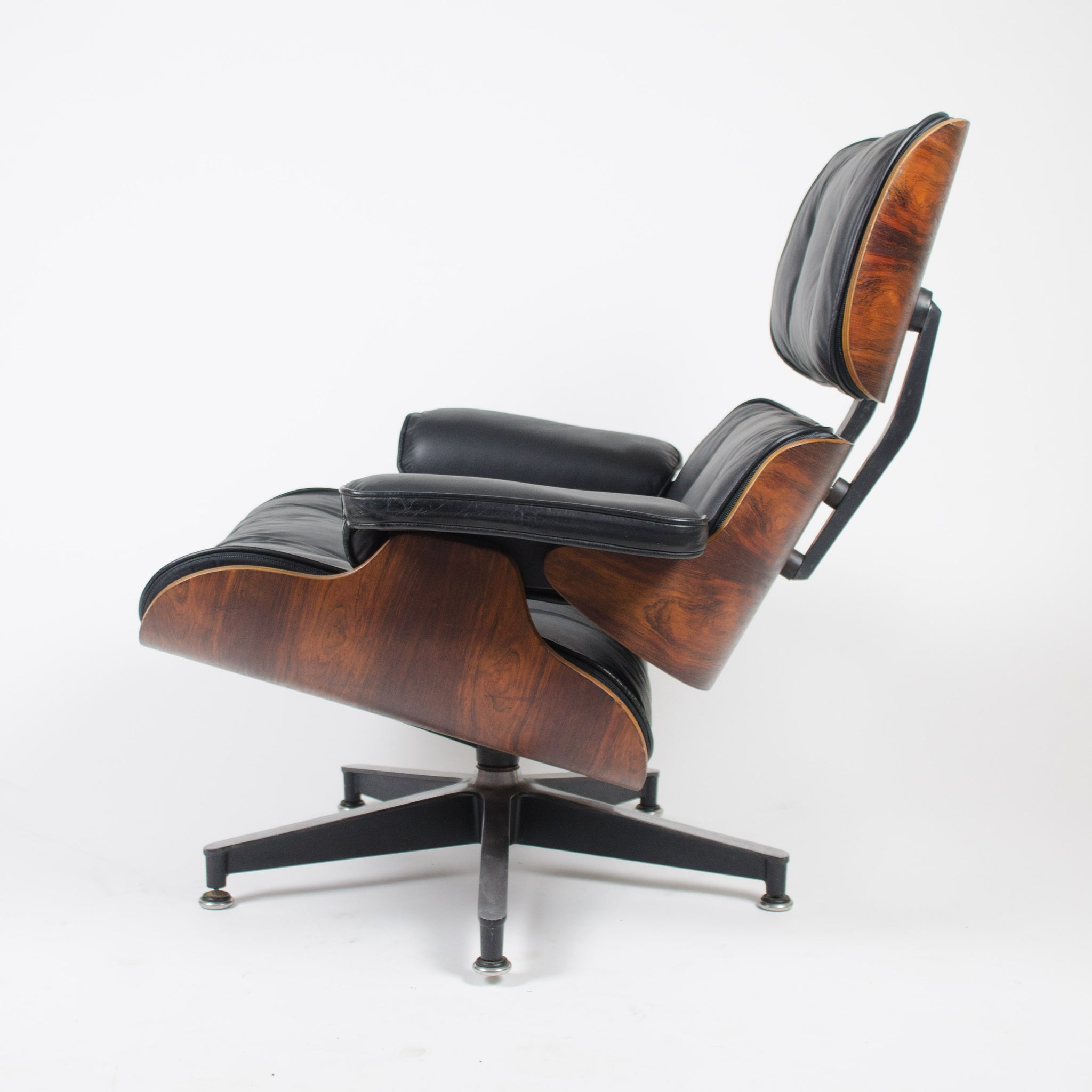 SOLD 1950's Herman Miller Eames Lounge Chair & Ottoman Rosewood Brand New Cushions