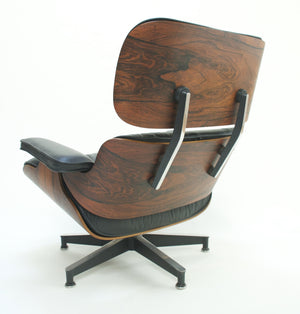 SOLD Herman Miller Eames Lounge Chair & Ottoman Rosewood 670 671 1950's