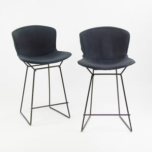 Early Vintage Knoll International Harry Bertoia Counter Height Wire Stools RARE