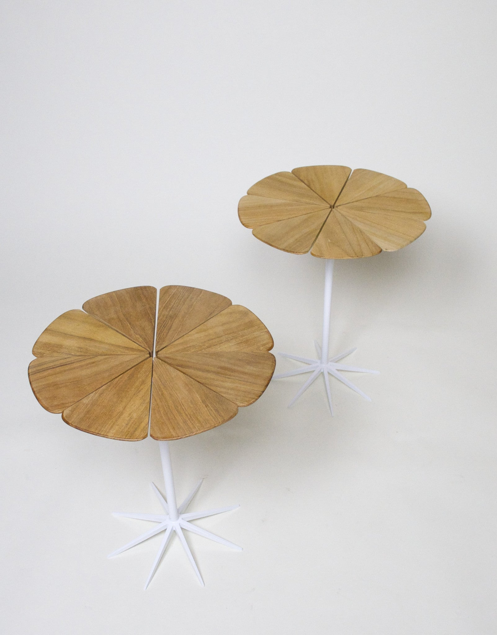 SOLD Knoll Richard Schultz Petal Tables Rare New Old Stock Group 2