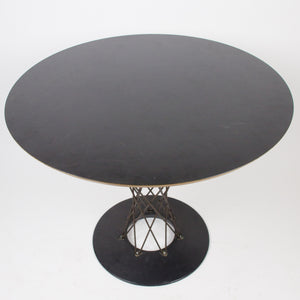 Black Isamu Noguchi For Knoll Associates Original 1950's Cyclone Wire Din Table
