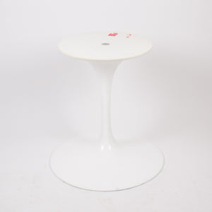 SOLD Eero Saarinen For Knoll 42 Inch Tulip Conference / Dining Table White Top 2000's