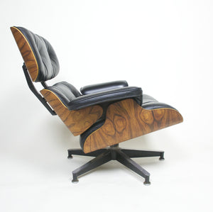 SOLD 1978 Herman Miller Eames Lounge Chair & Ottoman Rosewood 670 671