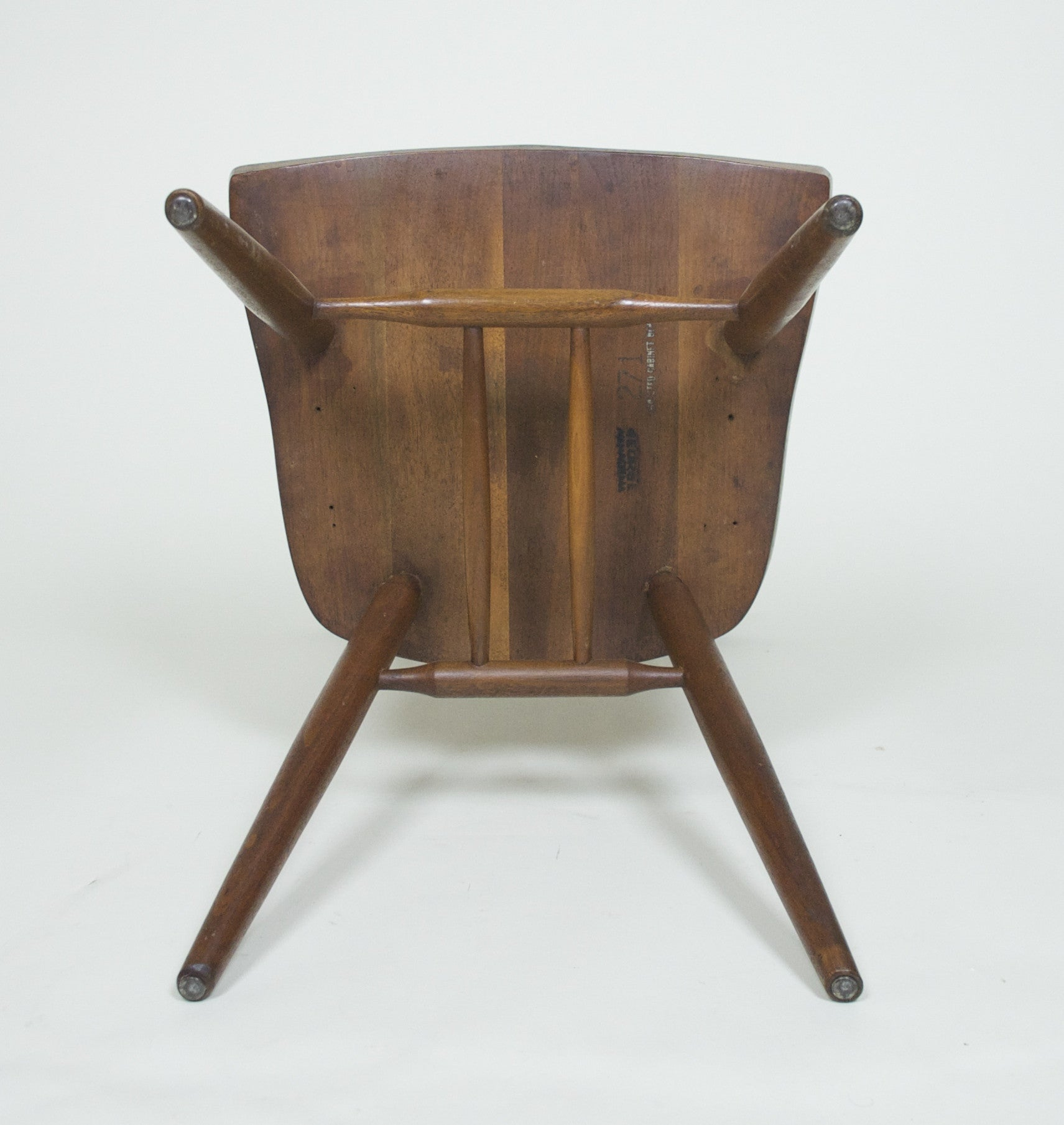SOLD George Nakashima for Widdicomb Pair Of New Chairs