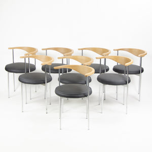 SOLD 1960's Vintage Frederik Sieck Fritz Hansen Model 3200 Dining Chairs Set of 8