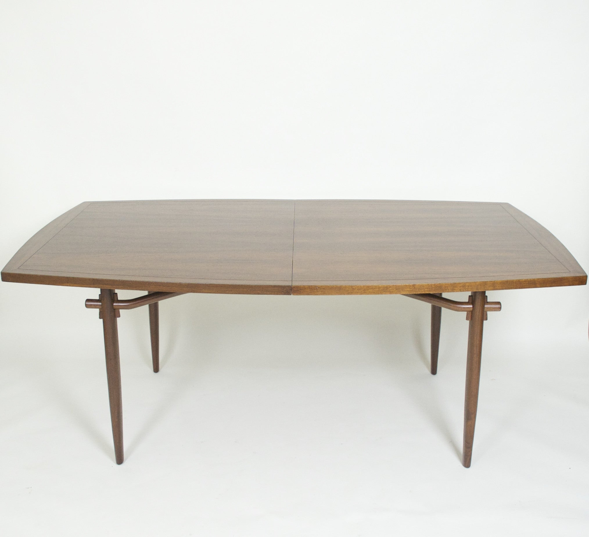 george nakashima for widdicomb sundra dining table with leaf d