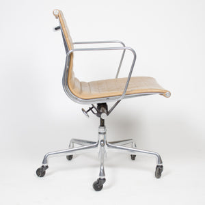 SOLD 2000's Tan Eames Herman Miller Low Aluminum Group Desk Chairs 9 Available