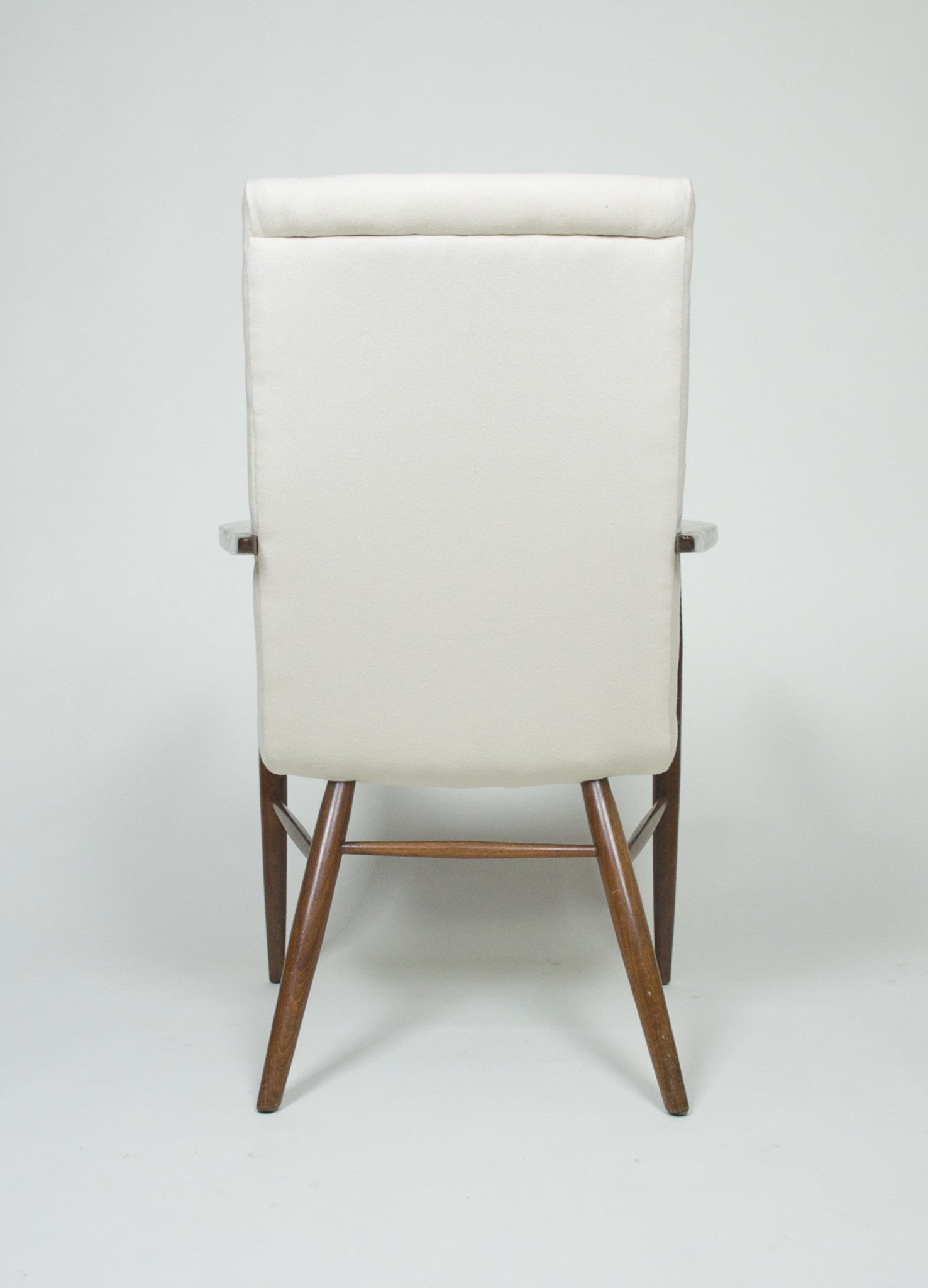 SOLD George Nakashima for Widdicomb Pair Of Origins Armchairs