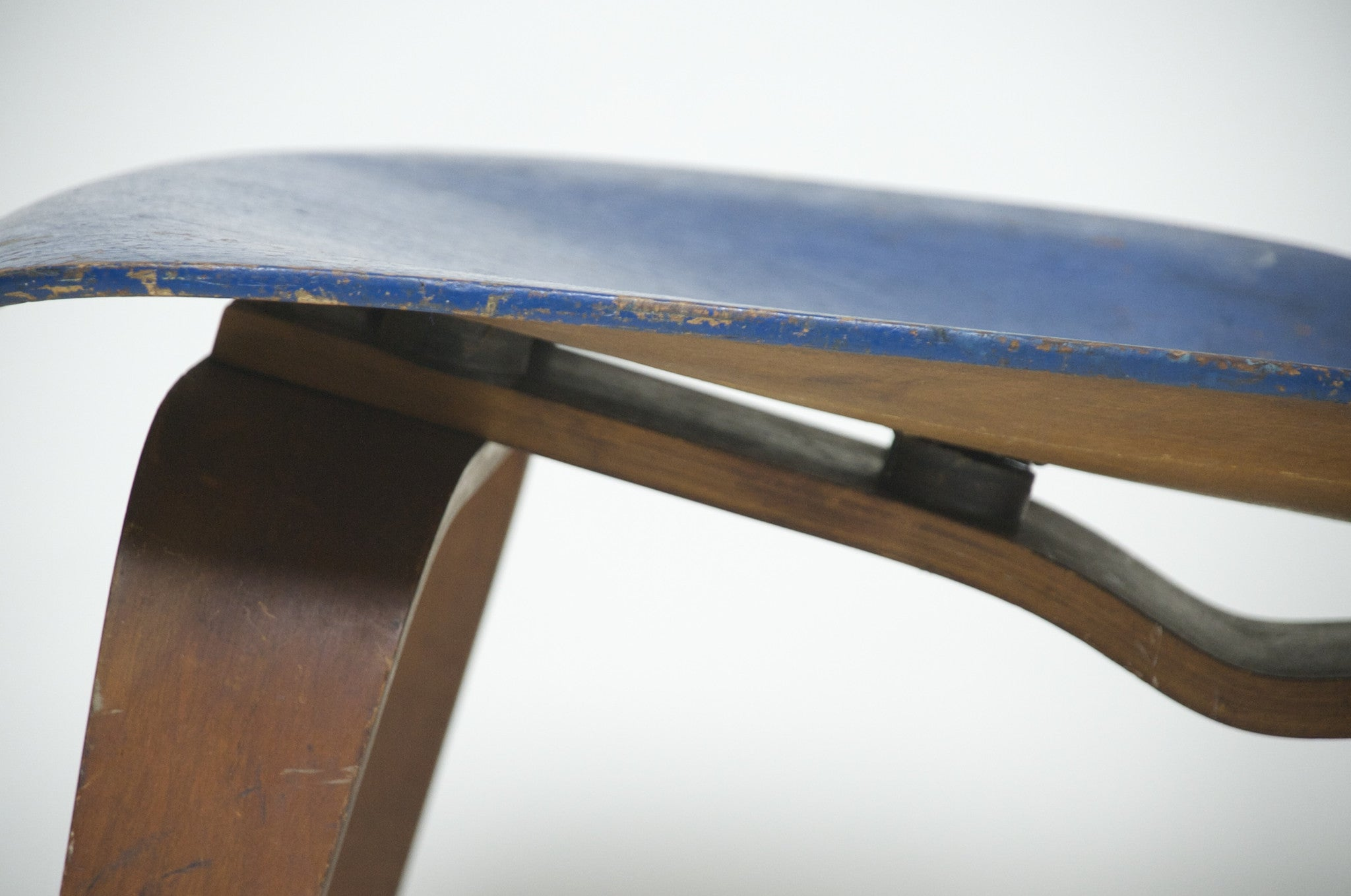 SOLD Eames Evans Herman Miller 1947 LCW Early Rare Chair, All Original Lounge Chair