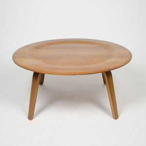 SOLD Early Eames Herman Miller Evans Walnut 1948 CTW Coffee Table