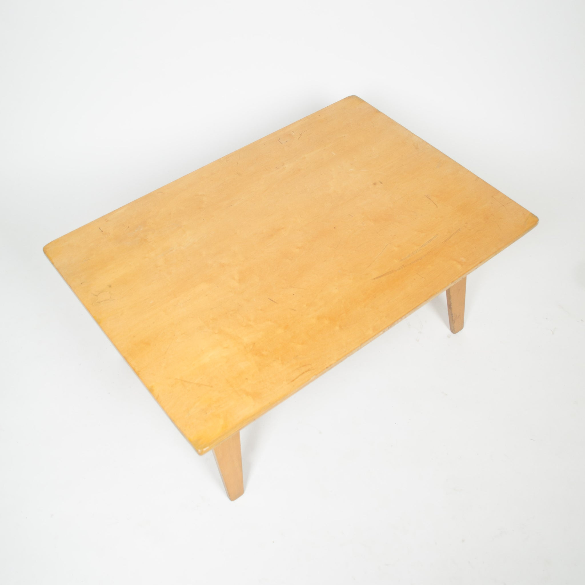 Eames Herman Miller Evans OTW 1946 Coffee Table Maple Cinema Prop
