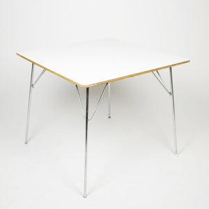 1960s Eames Herman Miller Folding DTM 20 Square Dining Table 10 Available