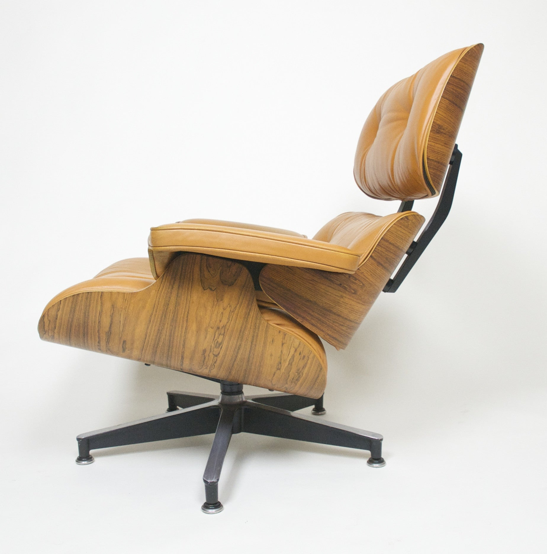 SOLD Herman Miller Eames Lounge Chair & Ottoman Rosewood 670 671 Set 2 1970's