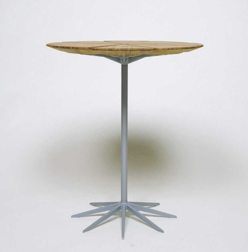 SOLD Knoll Richard Schultz Vintage Petal Table Rare New Old Stock Grey