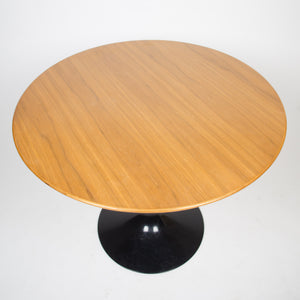 Eero Saarinen For Knoll 35 Inch Tulip Conference / Dining Table Walnut Top 2000s