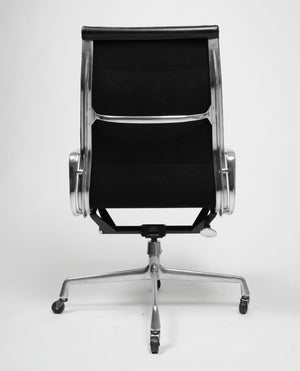 SOLD Rare Early Eames Herman Miller Soft Pad High Back Aluminum Group Chair