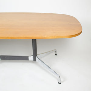 SOLD 2007 Eames for Herman Miller Segmented Dining Conference Table Aluminum Walnut