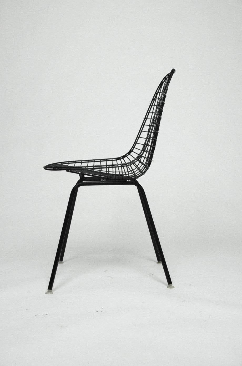 SOLD Herman Miller Eames 1960's Wire Desk Dining Task Chair (Black and White Available)