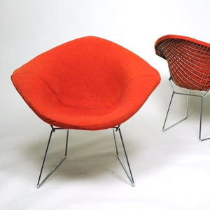 SOLD Harry Bertoia Diamond Lounge Chair for Knoll International (4x)