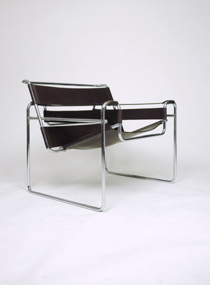SOLD 4 Early Gavina / Stendig Marcel Breuer Wassily Lounge Chairs