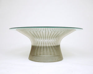 SOLD Knoll Warren Platner 36 and 42 inch Coffee Tables Vintage Original