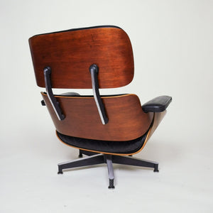 sold herman miller eames lounge chair and ottoman rosewood