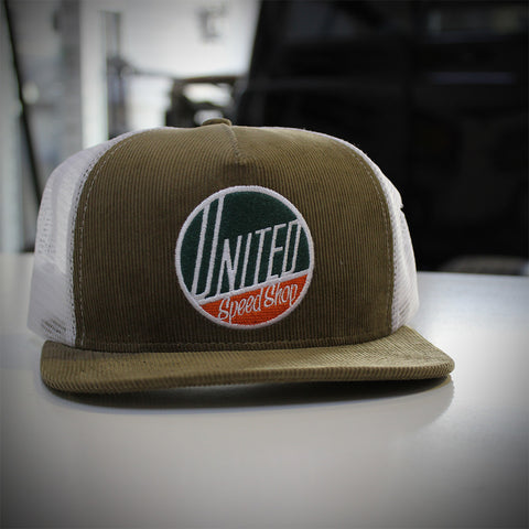 United Speed Shop Corduroy Cap