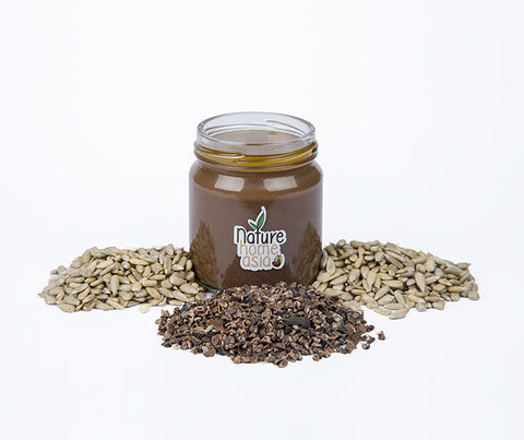 Cacao Sunflower Butter Organic. 100g. (NHT031MP)