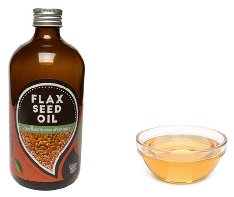 Flax Seed Oil Cold Pressed. 500ml. (NHT102MP)
