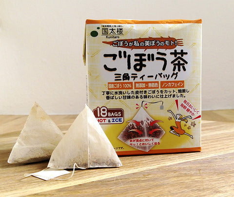 Japanese Burdock Root Tea Goboucha (18 teabags). 25g. (BRT01)