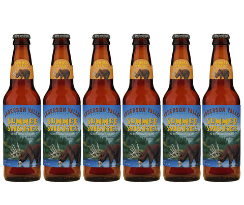 Anderson Valley Summer Solstice Cream Ale. 355ml. Buy 5 Get 6 (1 FREE) + FREE beer snack! (SPB07)
