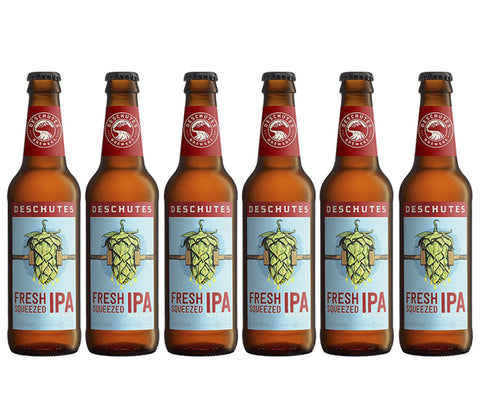 Deschutes Fresh Squeezed IPA. 355ml. Buy 5 Get 6 (1 FREE) + FREE beer snack! (BV031)