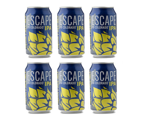 Epic Escape to Colarado IPA. 355ml. Buy 5 Get 6 (1 FREE) + FREE beer snack! (SPB08)